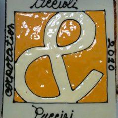 Torta per l'anniversario del 4° anno della Accioli e Puccini